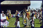 Plains Indian Powwow in Cody, Wyoming.