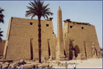 Egyptian temple in Luxor